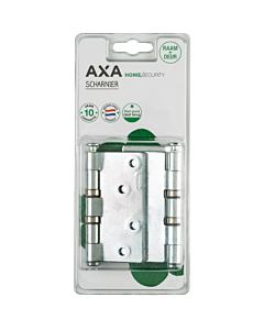 AXA kogelscharnier 89 x 89 mm verz. blister 3 stuks