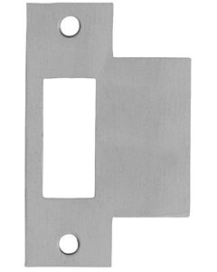 AXA sluitplaat loopslot L/R rvs