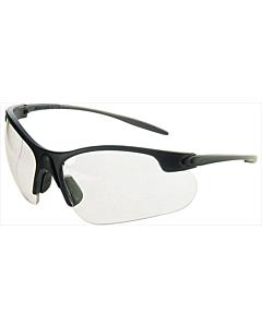 Promat veiligheidsbril blauw/helder