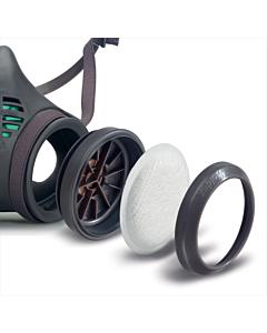 Moldex filterpatroonhouder 8095voor masker 8002