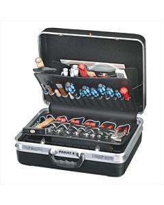 Parat gereedschapskoffer 488-171 zwart 470x360x180 mm