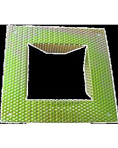 Klemko Lumiko Stucplaat voor wand inbouwarmatuur 135x135mm