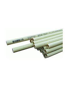 """Dyka Installatiebuis pvc 25 mm 1"""" creme lengte 4 m"""