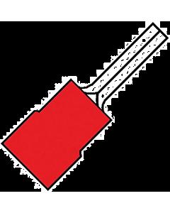 Geis.draadpen rood 12 a1519sr