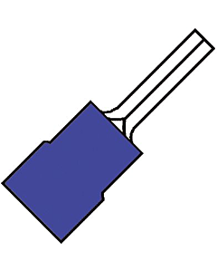 Geis.draadpen blauw 9.5  a2519sr9.5