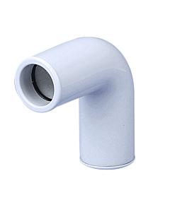 Airco condensafvoer bocht 90° star wit Ø 20 mm