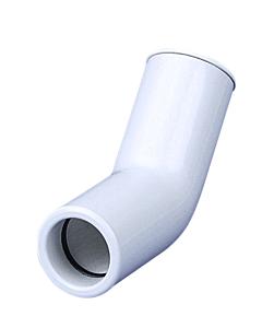 Airco condensafvoer bocht 45° star wit Ø 20 mm