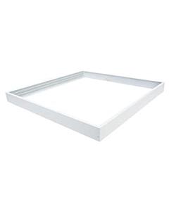 Agiba opbouwrand ledpaneel 60 x 60 cm wit