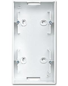 B-J Balance SI opbouwbak met bodem 2-voudig wit