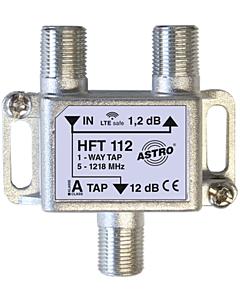 Astro aftakelement 1-voudig 12dB 5-1218 retourgeschikt HFT112