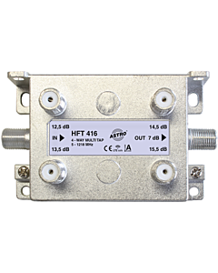 Astro multitap 4-voudig 13-16dB 5-1218 retourgeschikt HFT416