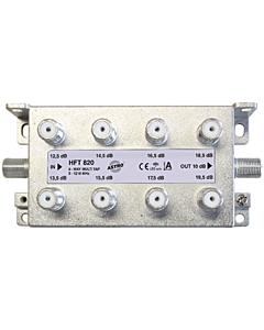 Astro multitap 6-voudig 13-20dB 5-1218 retourgeschikt HFT820