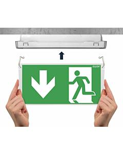 Awex Exit plexiglasplaat voor armatuur