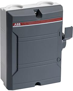 ABB werkschakelaar BW425TPSN 4p 25A m25