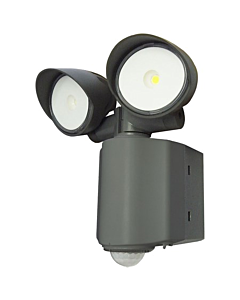 Klemko Wallie LED-buitenlamp met PIR 2x8W