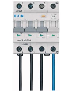Eaton aardlekautomaat 16A 3P+N B-kar 6kA 30mA flex